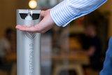 Sanitizer Station 1.0 - handgel dispenser ontsmettingszuil